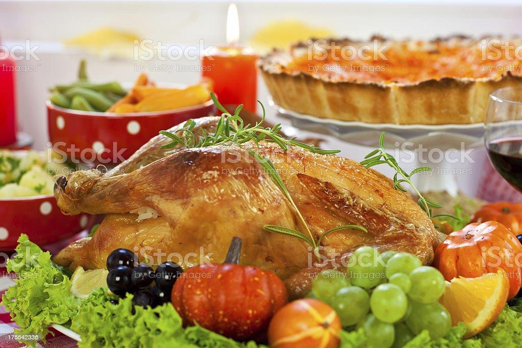 Thanksgiving Dinner royalty-free stock photo