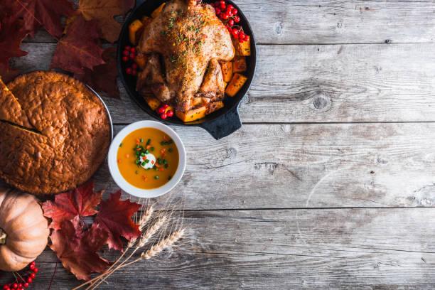 Jantar do Dia de Ação de Graças - foto de acervo