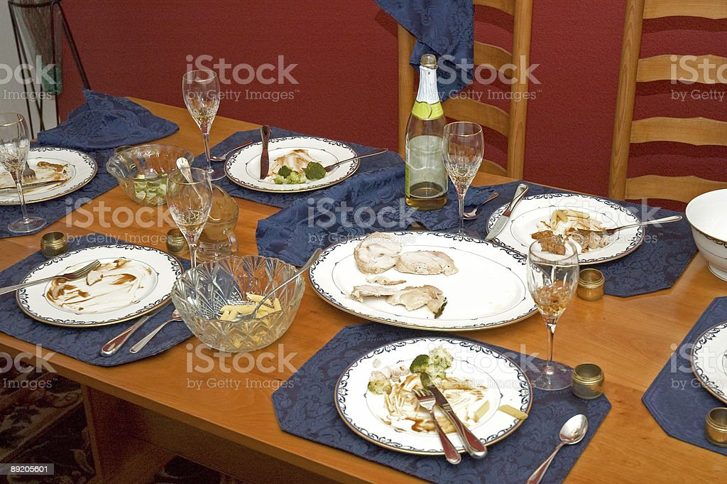 Thanksgiving Dinner #3 royalty-free stock photo