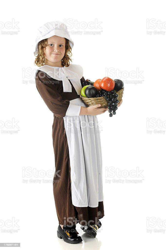 Thanksgiving Fruit-Bearer stock photo