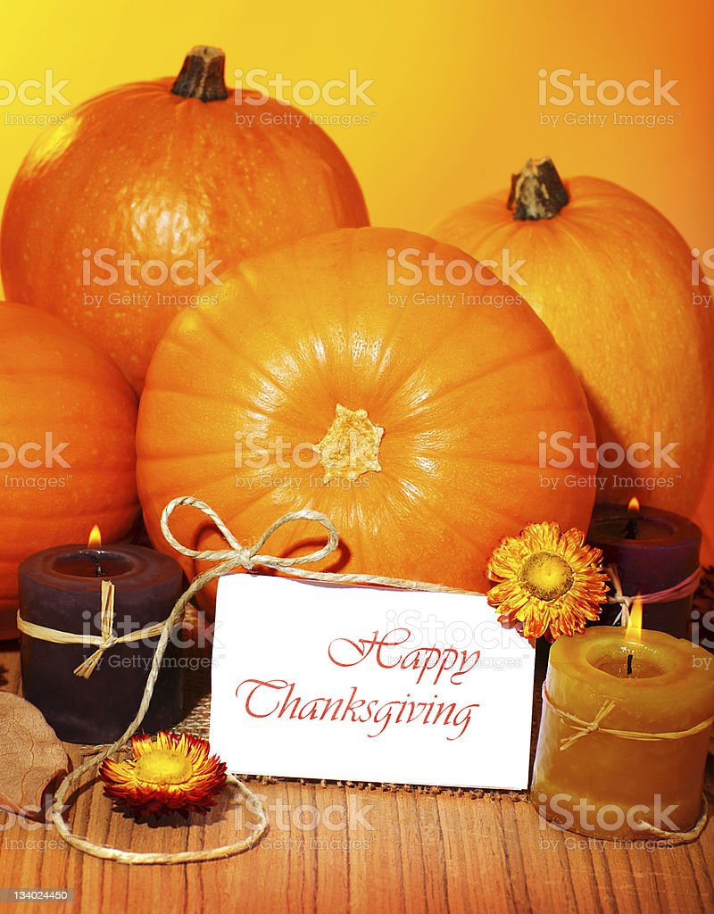 Thanksgiving holiday card royalty-free stock photo
