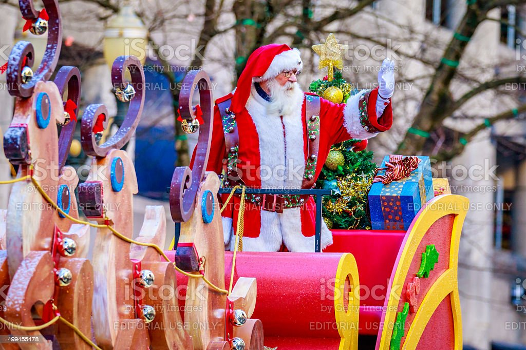 Thanksgiving Macy Parade 2015 stock photo