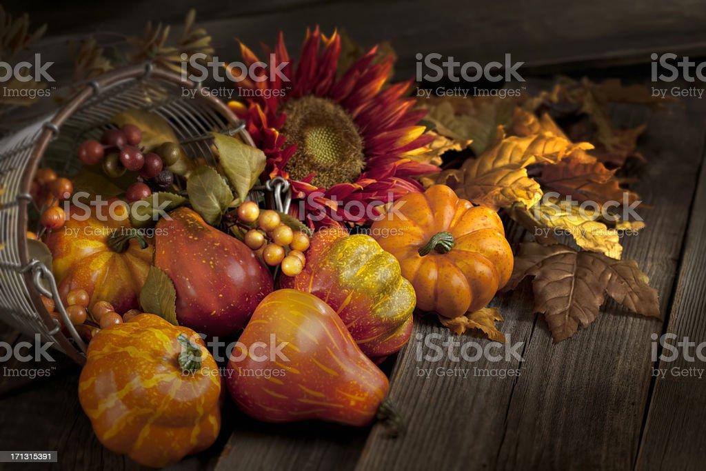 Thanksgiving Still Life stock photo