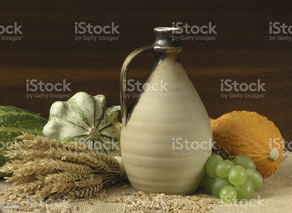Thanksgiving still life royalty-free stock photo