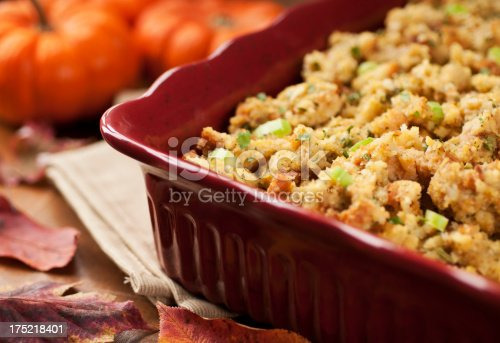 Thanksgiving stuffing - Please see my portfolio for other holiday and food related images.