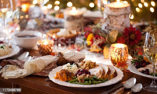 istock Thanksgiving Turkey Dinner 1173468769