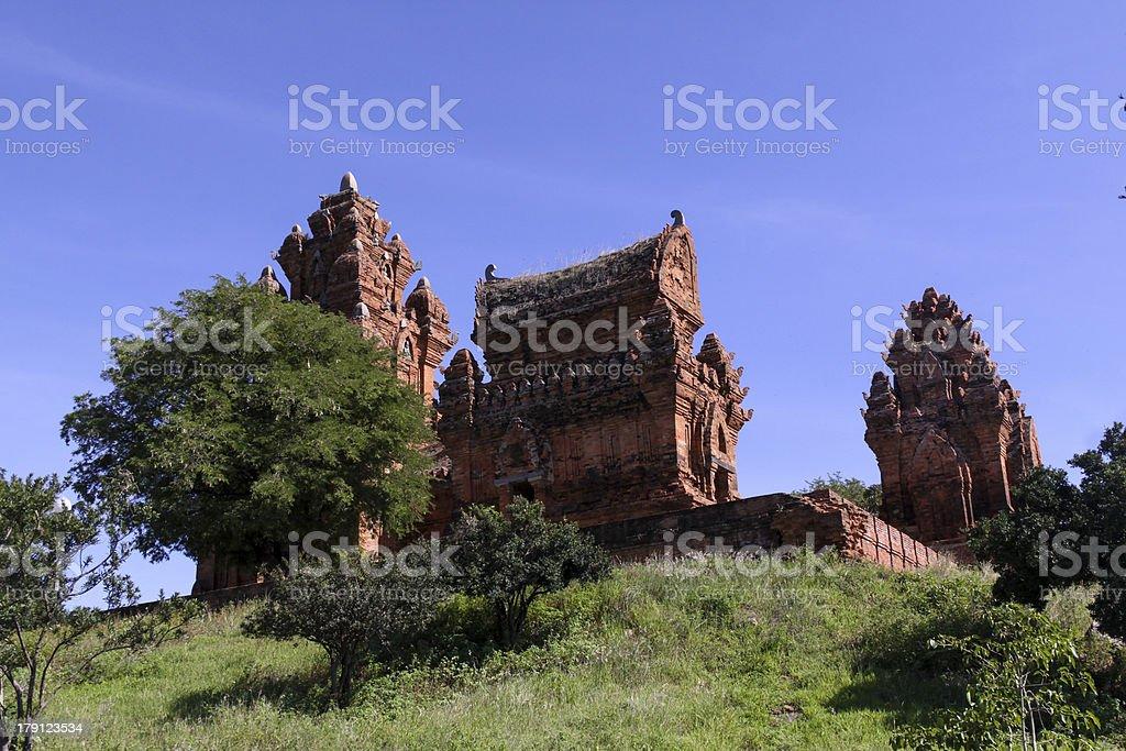 Thap Cham Ninh Thuan province stock photo