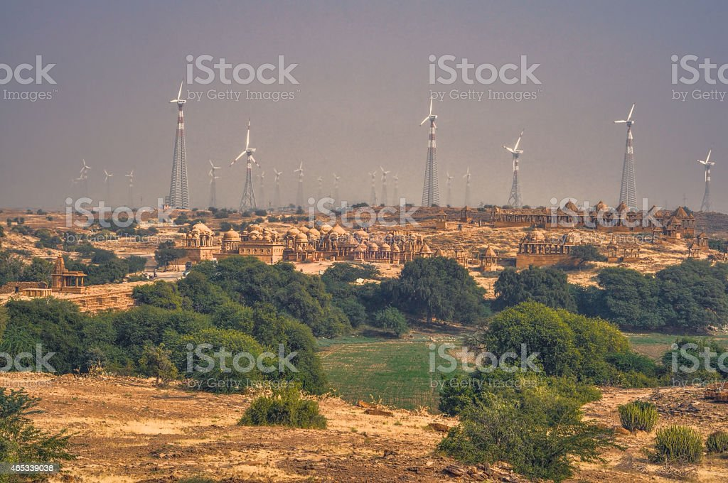 Thar Desert stock photo