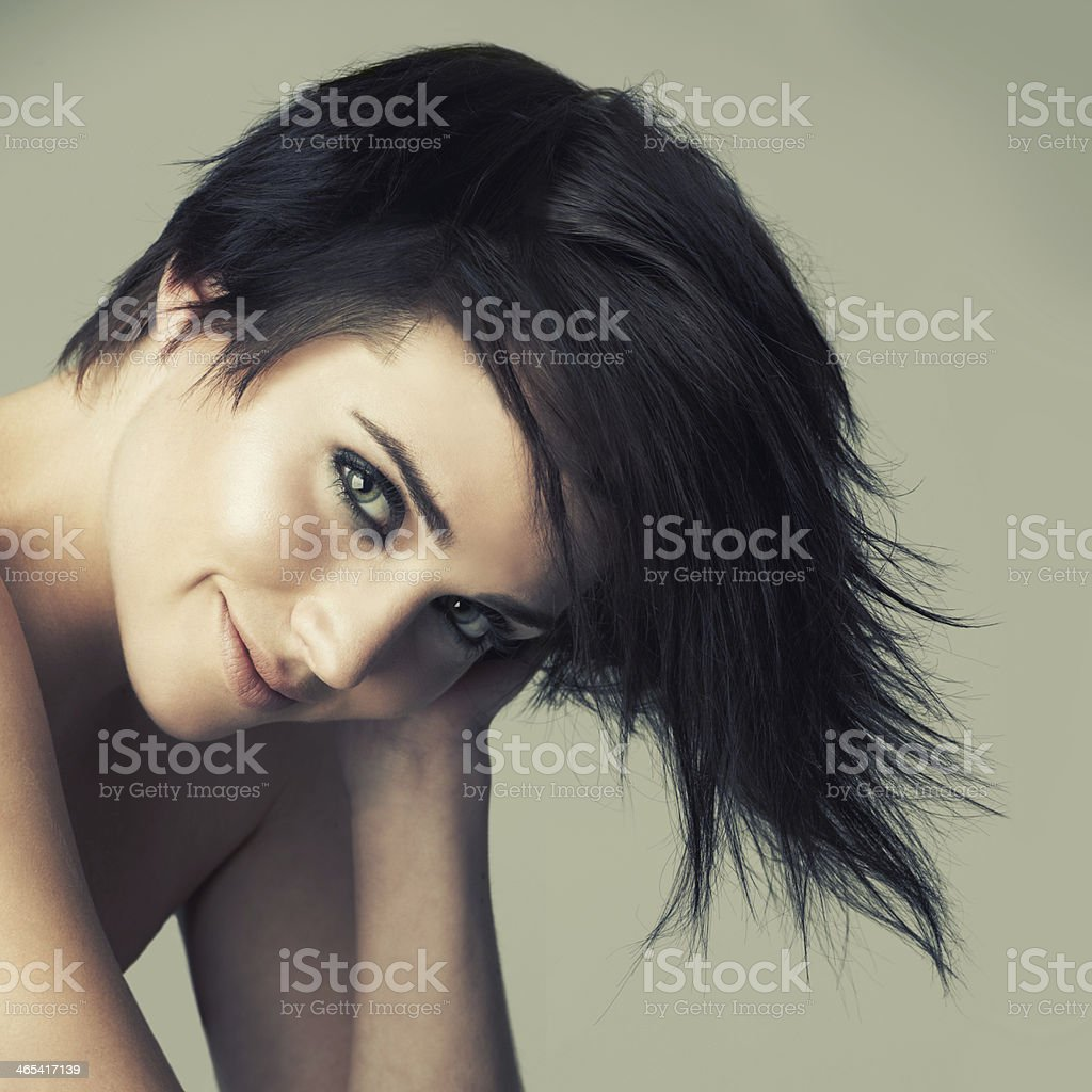 That alternative funky look stock photo