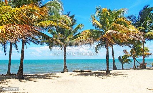 That beach in Dangriga, Belize