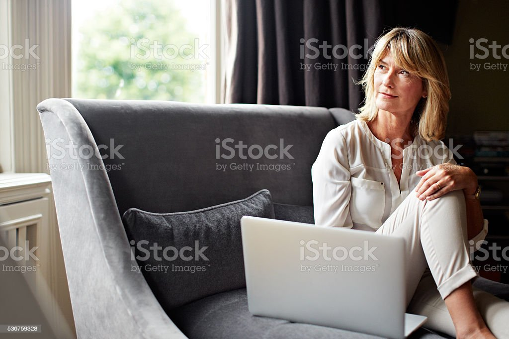 That email brought back memories... stock photo