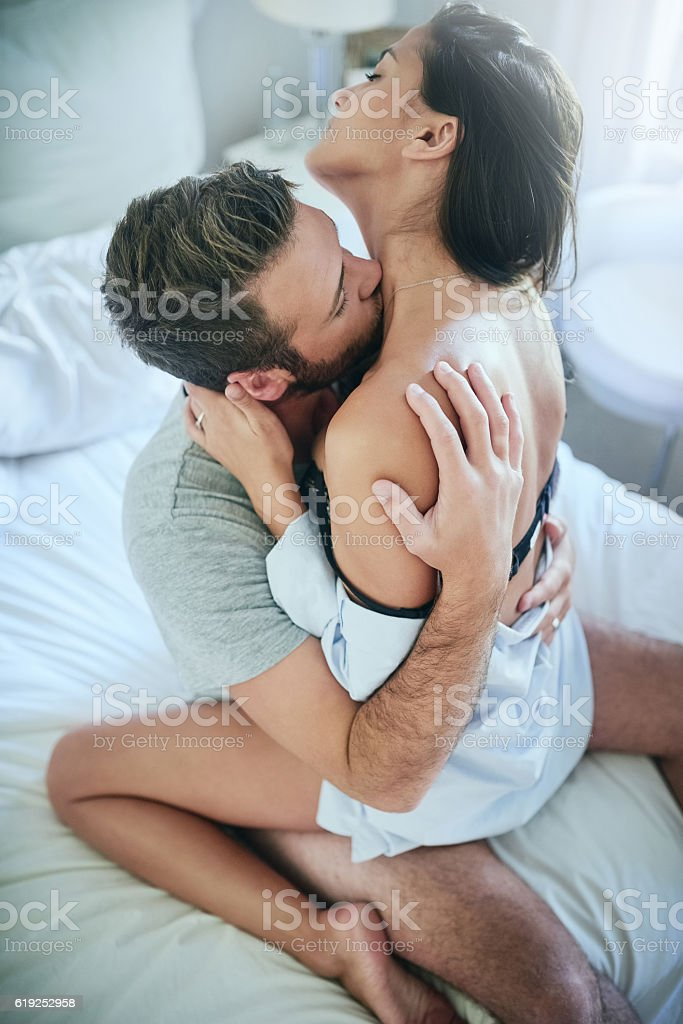 That feels amazing! stock photo