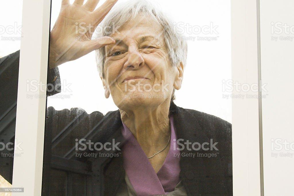 That Nosy Woman. royalty-free stock photo