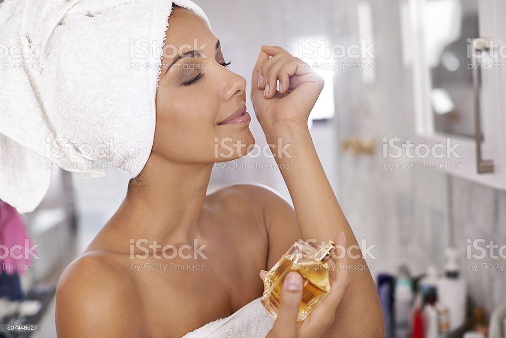 That smells heavenly stock photo
