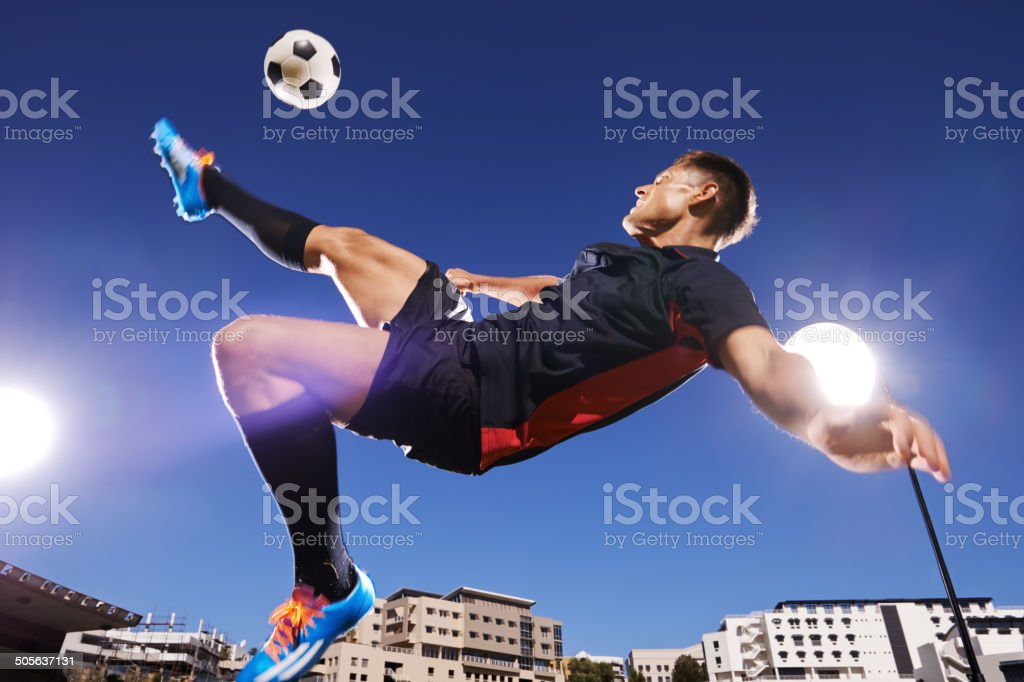 That technique is flawless stock photo