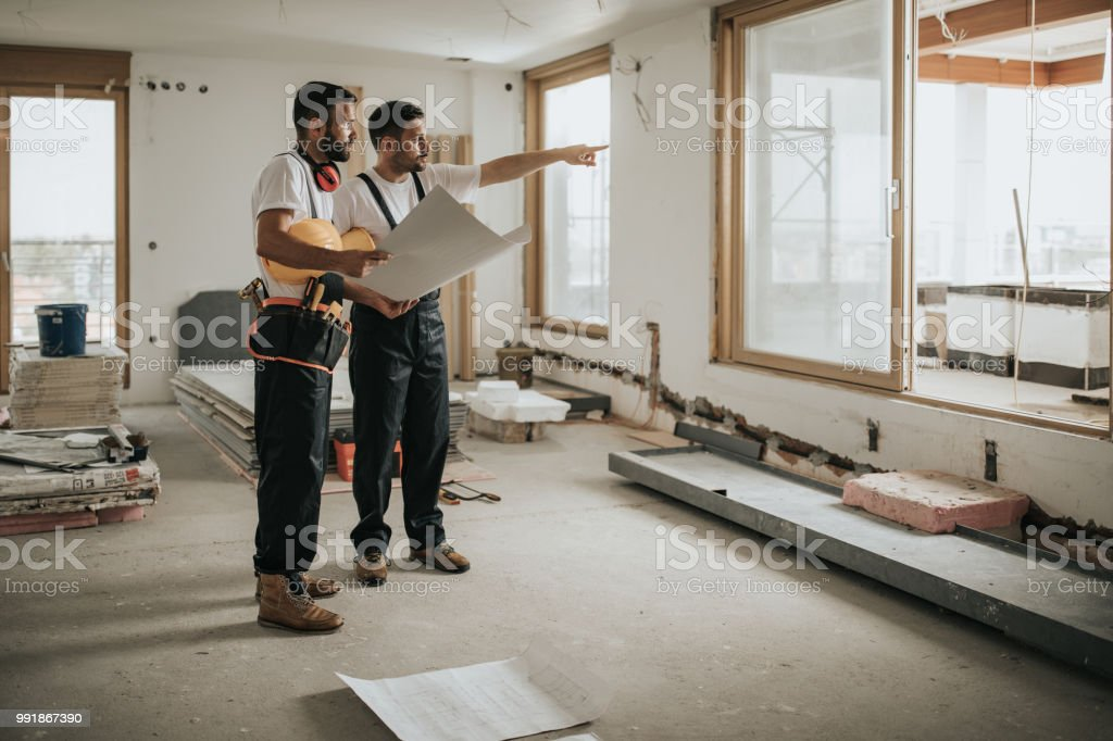 That thing is next on our housing plan! stock photo
