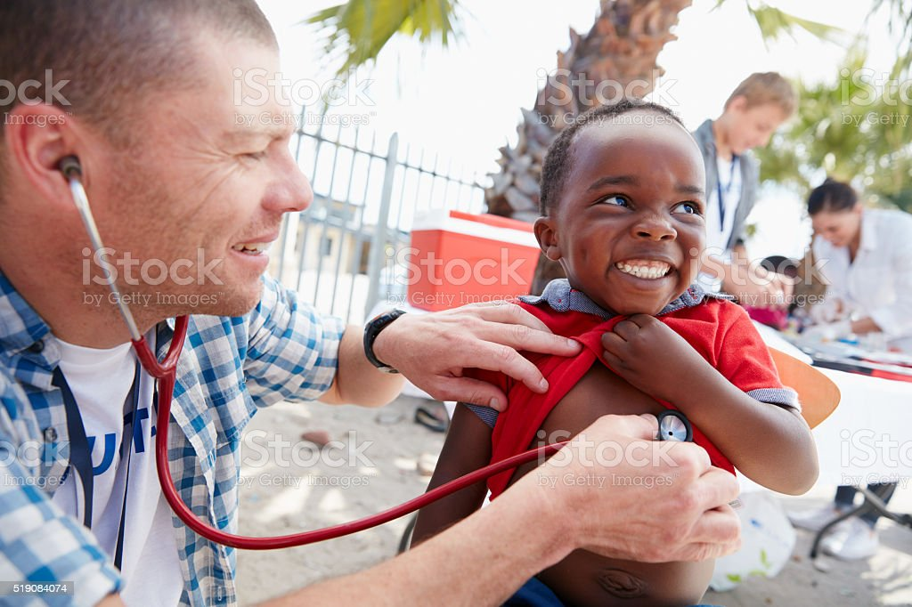 That tickles! stock photo