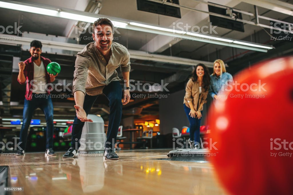 That was a good throw! stock photo