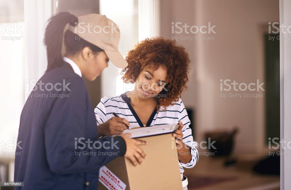 That wasn't stressful at all stock photo