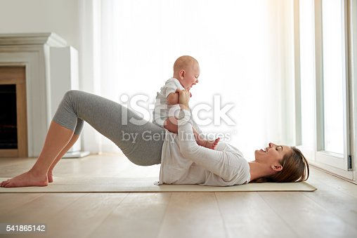 istock That's how she got her pre-baby body back 541865142
