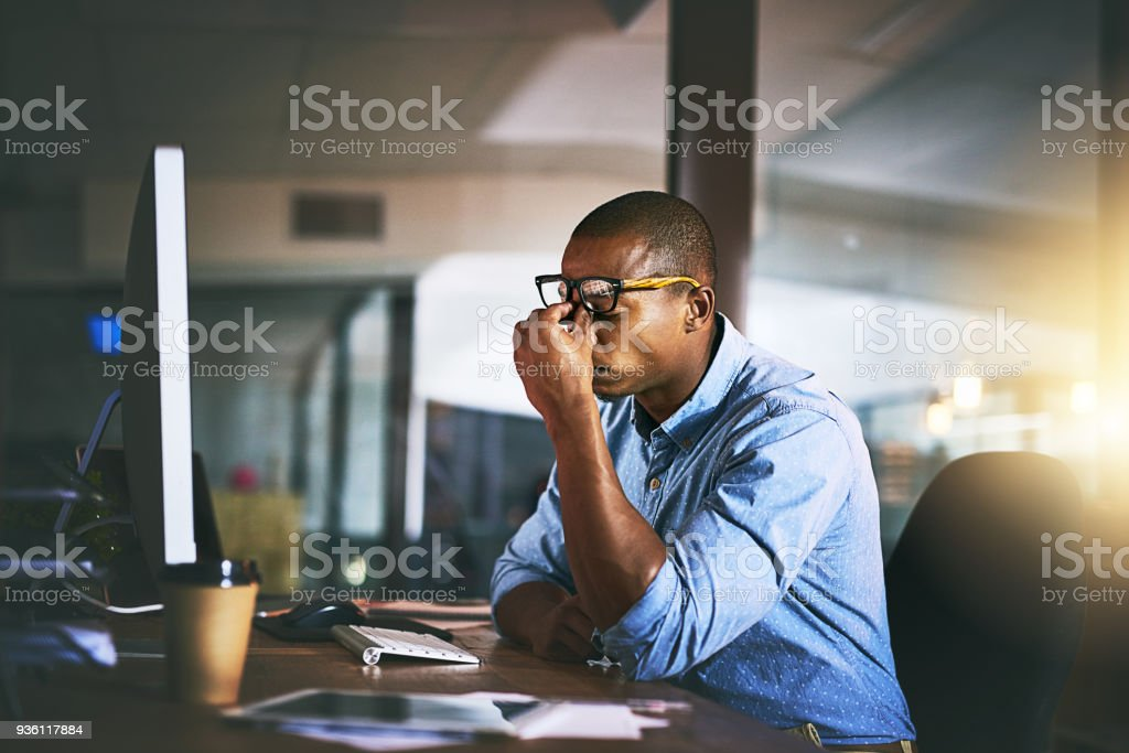 That's it, I'm done! stock photo