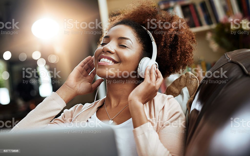 That's some smooth sound stock photo