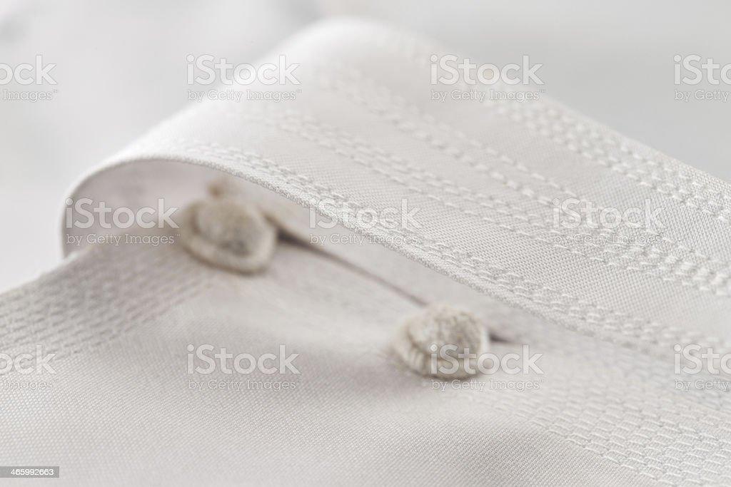 Thawb or kandura is a garment worn by Arab men stock photo