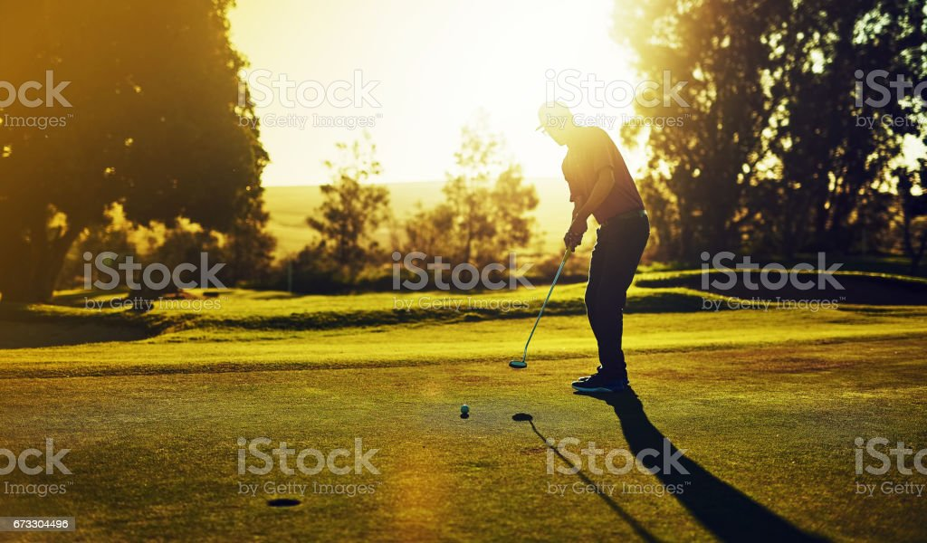 The 18th hole royalty-free stock photo