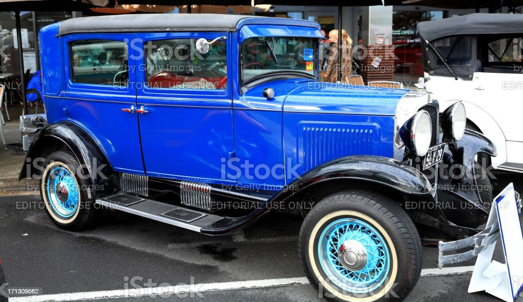 The 1929 Whippet hard top sedan royalty-free stock photo
