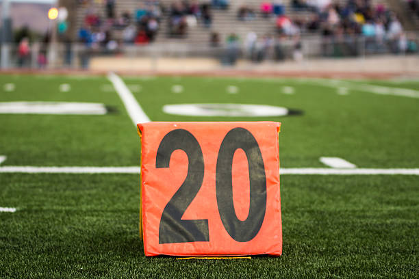 die 20 yard line - jake*s stock-fotos und bilder