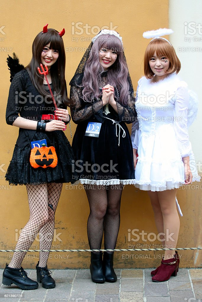 The 20th Anniversary of Kawasaki Halloween (2016) stock photo