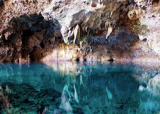 the 3 eyes national park - stalagmit bildbanksfoton och bilder