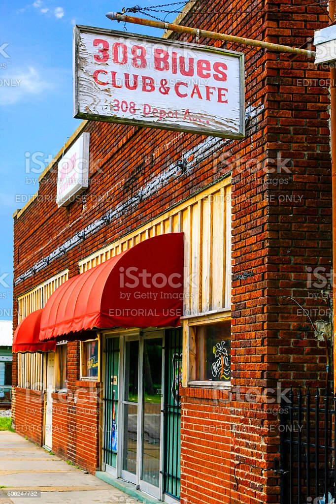 The nationally-known 308 Blues Club and Cafe in Indianola MS. One of...