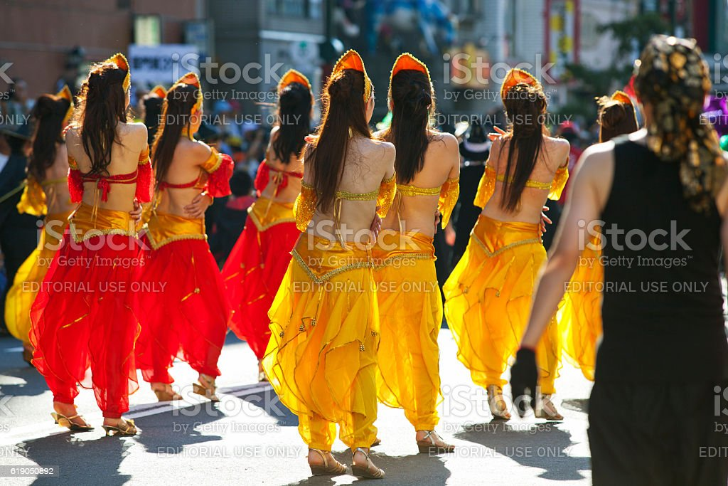 The 31st Asakusa Samba Carnival (2012) - Real Bodies stock photo