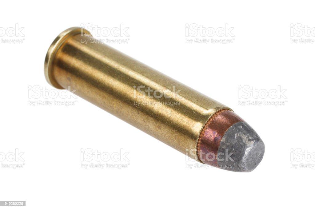 El cartucho de revólver.357 magnum - foto de stock