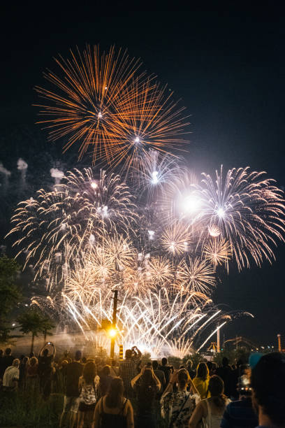The 35th edition of the Montreal International Fireworks Competition