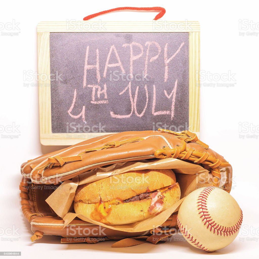 The 4 Th July stock photo
