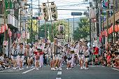 42 神奈川大和阿波踊り (2018 年) Aunren