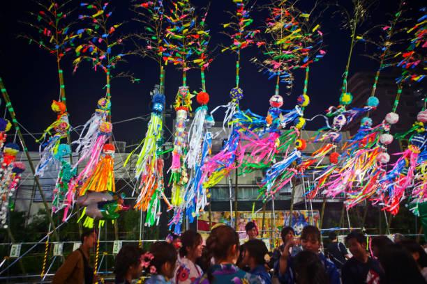 第69回湘南平塚スターフェスティバル - 七夕の写真 ストックフォトと画像