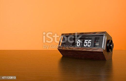 Original 70s alarm flip clock.