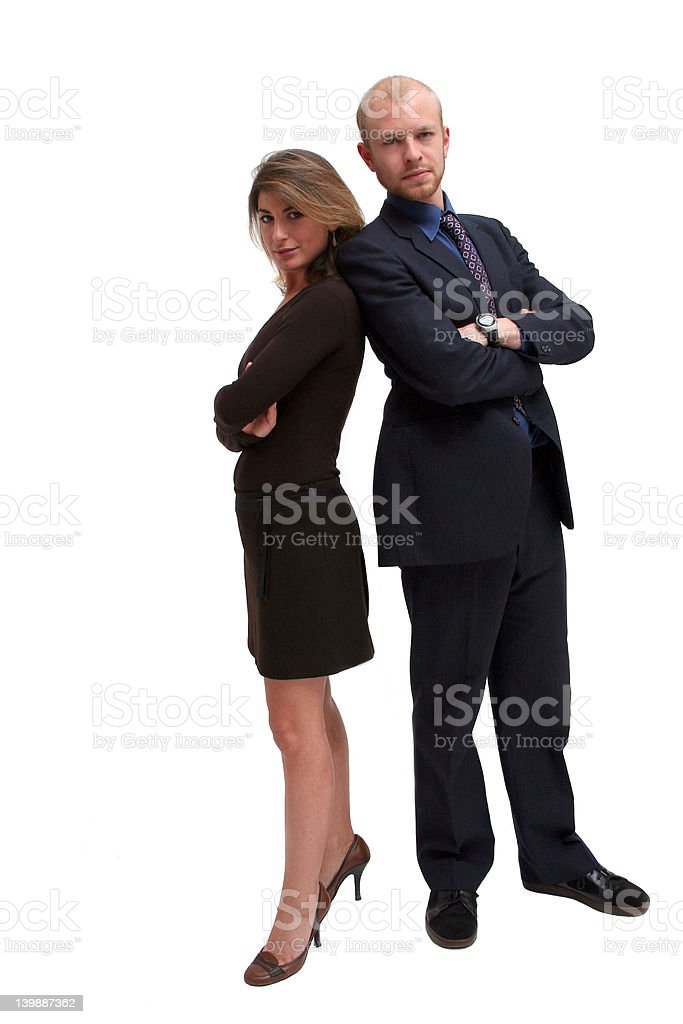 The A Team - Business Confidence royalty-free stock photo