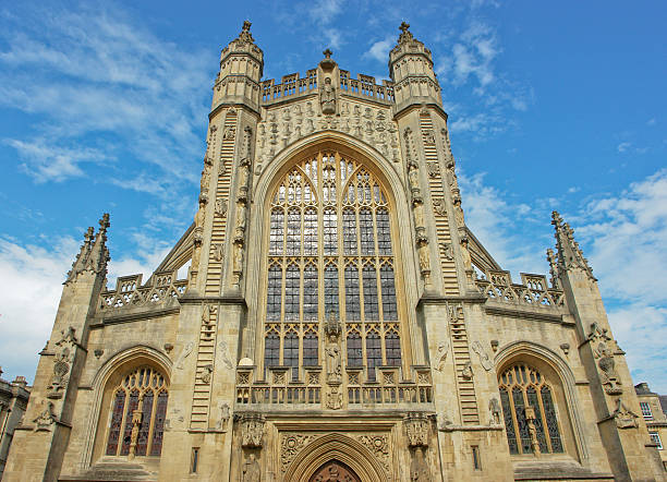The Abbey Church of Saint Peter and Paul in Bath The Abbey Church of Saint Peter and Paul in Bath bath abbey stock pictures, royalty-free photos & images