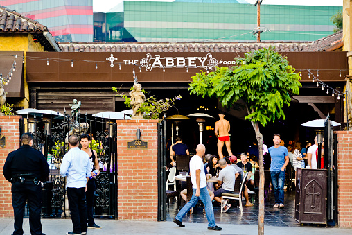 The Abbey Food And Drink In West Hollywood Stock Photo - Download Image Now