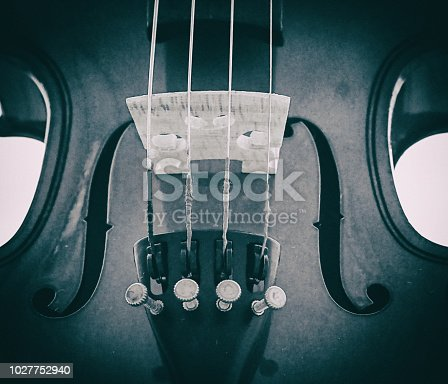 istock The abstract artdesign background of front side violin,show parts of violin,vintage and art tone,blurry light around. 1027752940