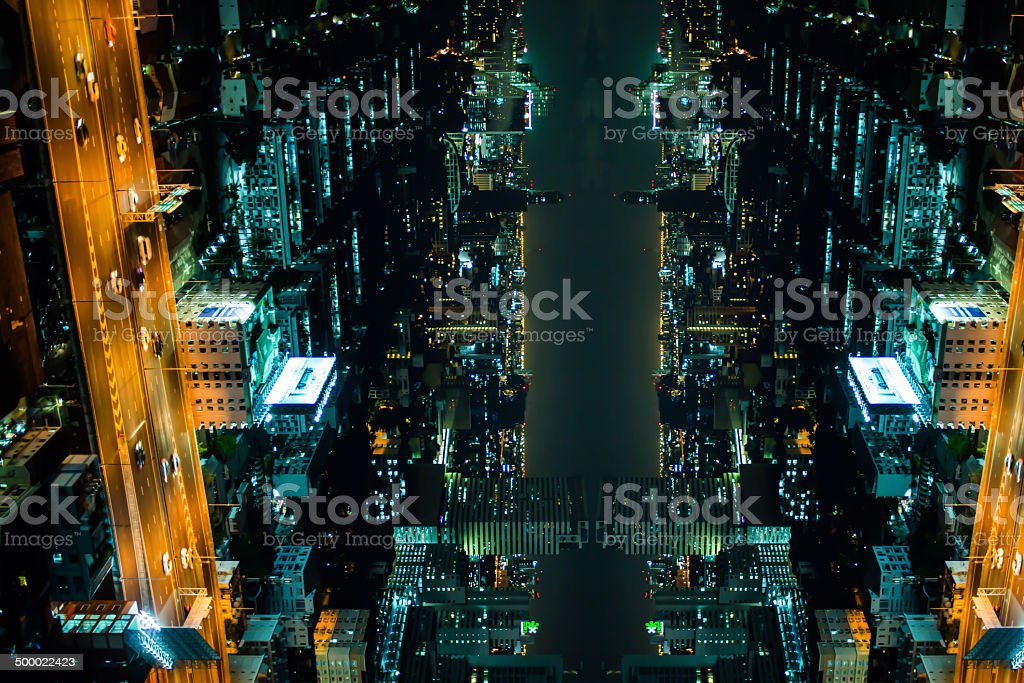 The abstract background from the vivid of lights stock photo