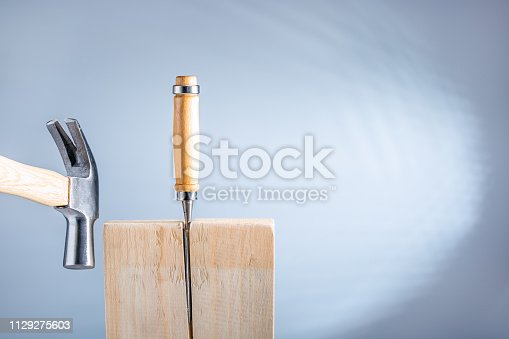 istock The abstract concept of separation, split a life, relationships, lives breaking up. 1129275603
