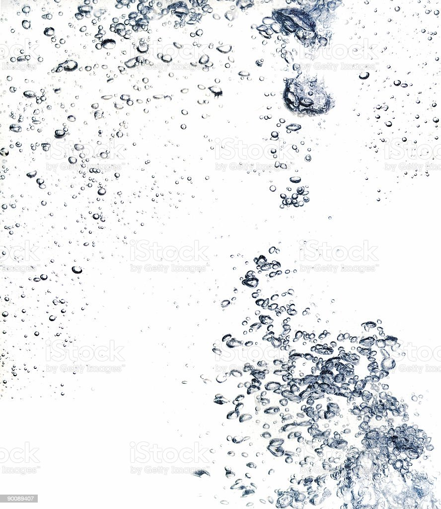 The abstract water splash background royalty-free stock photo