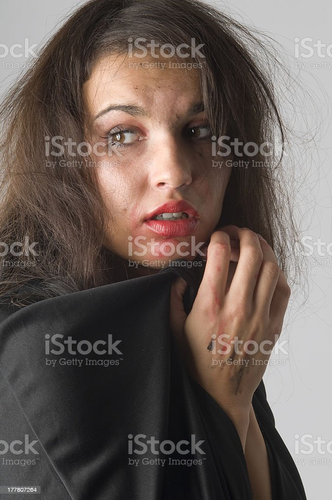 the abuse royalty-free stock photo