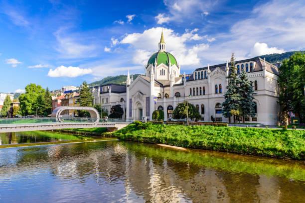 Akademie der Schönen Künste im historischen Zentrum von Sarajevo – Foto