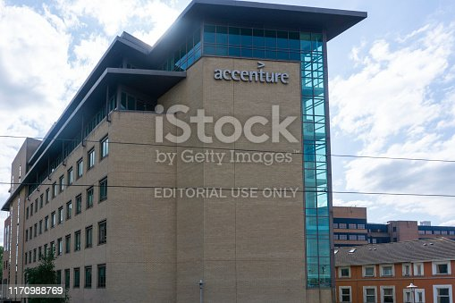 The Accenture Building in Grand Canal Quay, dublin,Ireland.